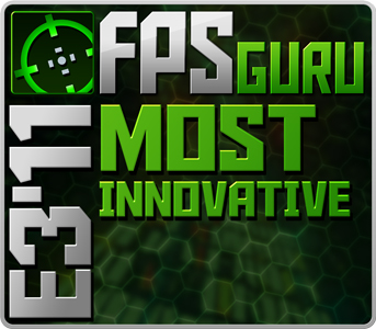 "FPS Guru ""most innovative"" award"