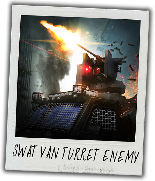 SWAT Van Turret Enemy