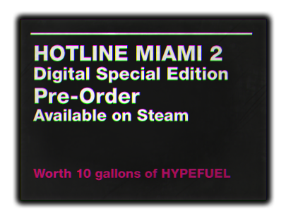 Hotline Miami 2 Digital Special Edition
