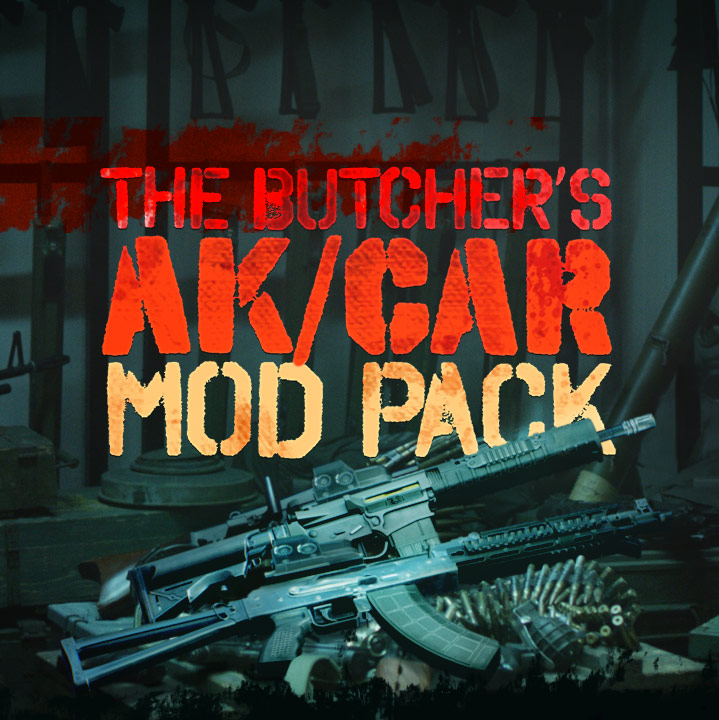 Payday 2 The Butcher S Ak Car Mod Pack Overkill Software