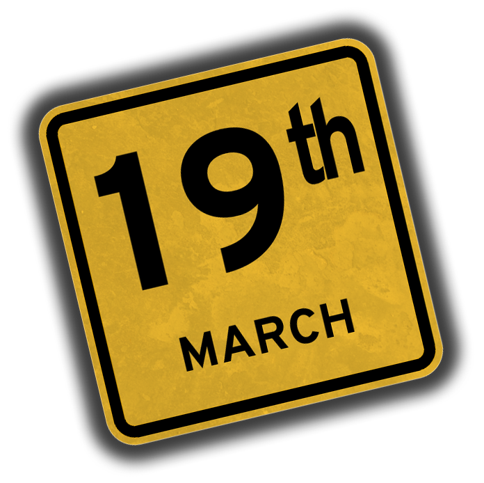 19th March