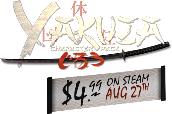 Buy the Yakuza Character Pack - $4.99 on Steam