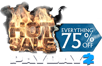 Up to 75% off on PAYDAY 2