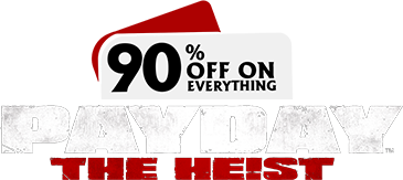 90% off on everything PD:TH