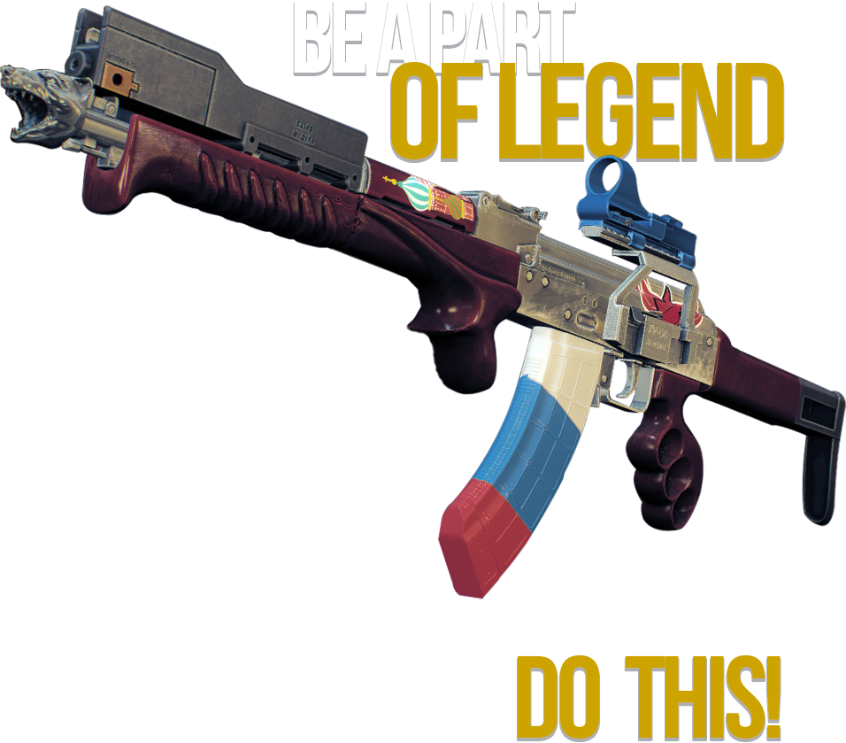 Become a part of Legend