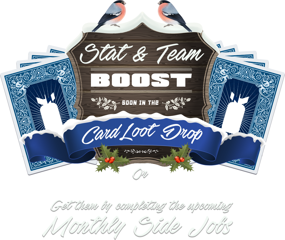 Stats & Team Boost now on the Card Drop