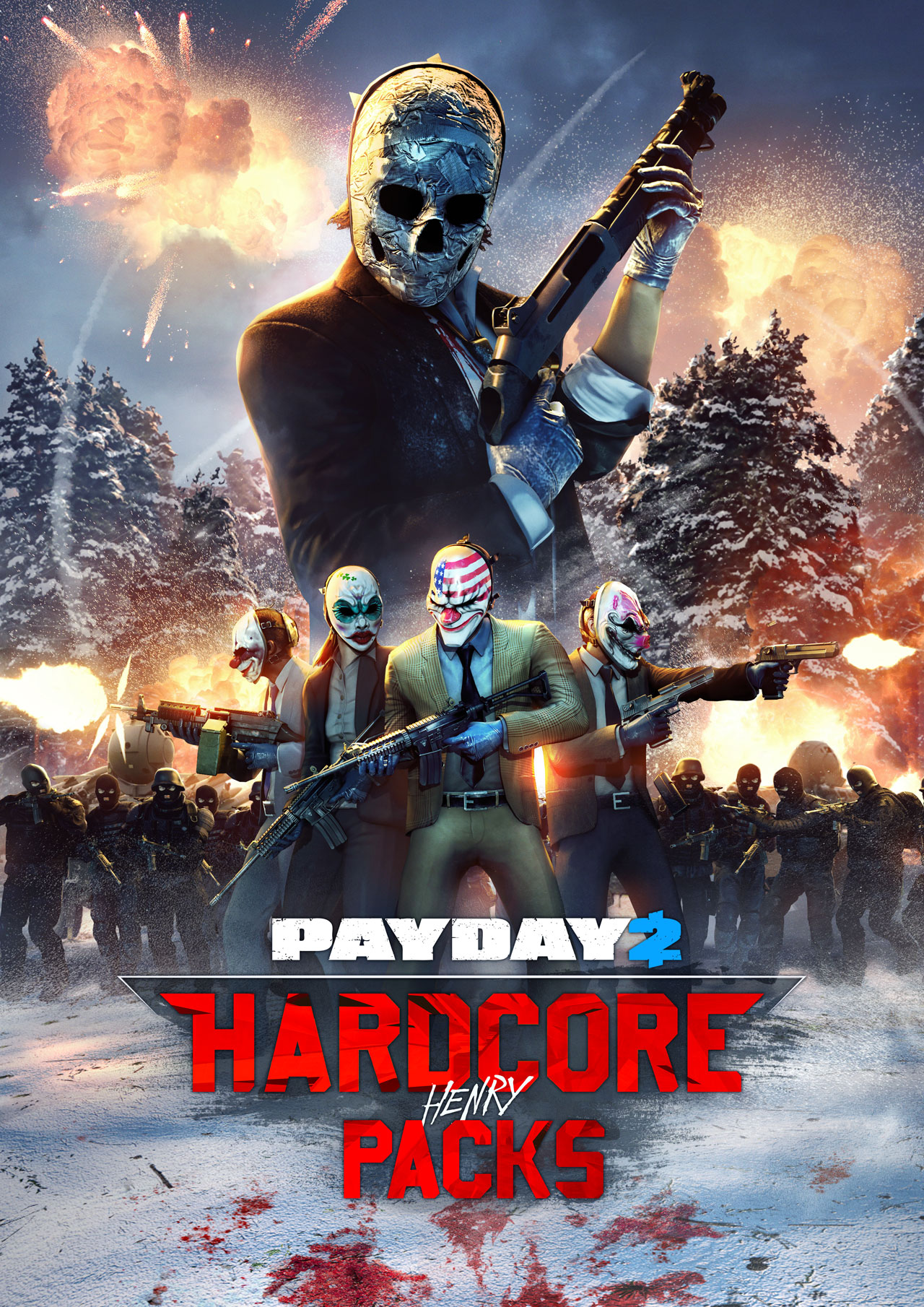 Payday 2 Hardcore Henry Packs Jimmy Character Pack