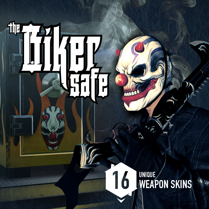 PAYDAY 2: Update 103, The Biker Safe, COP Masks and Sales