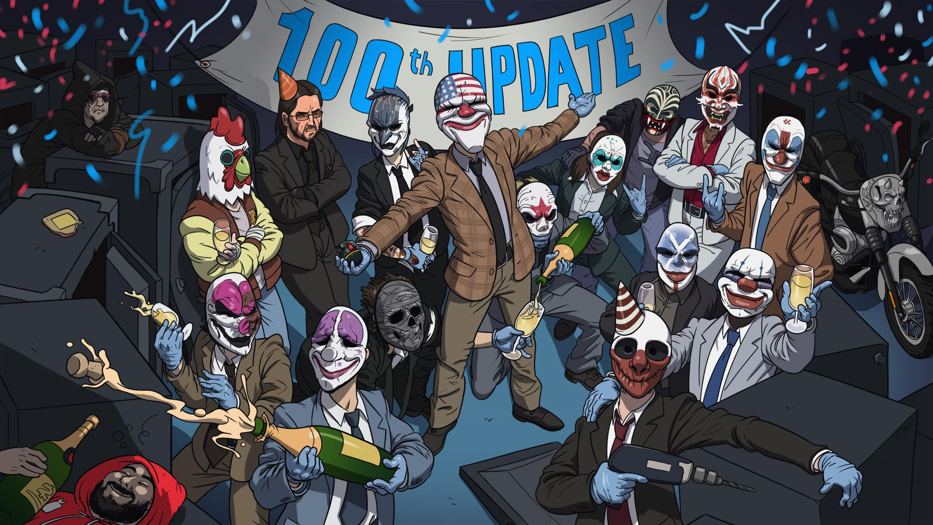PAYDAY 2: Update 100 - OVERKILL Software