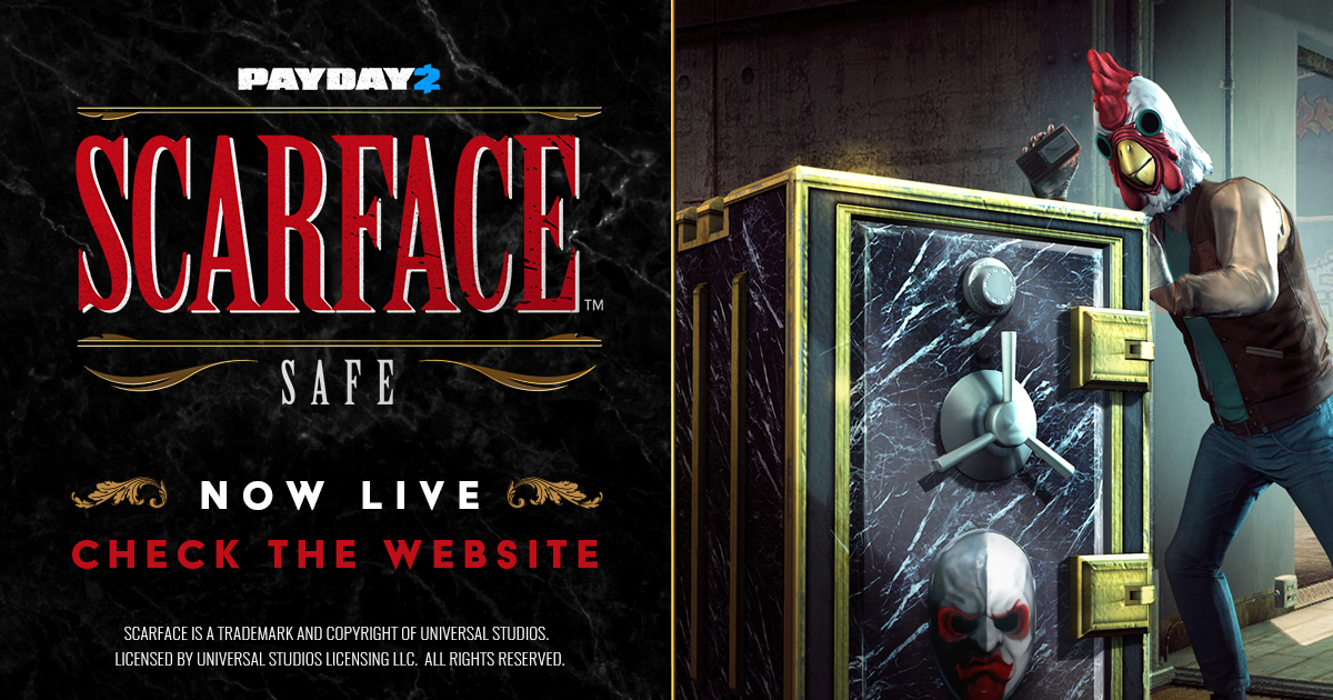 Payday 2 Scarface Safe Overkill Software