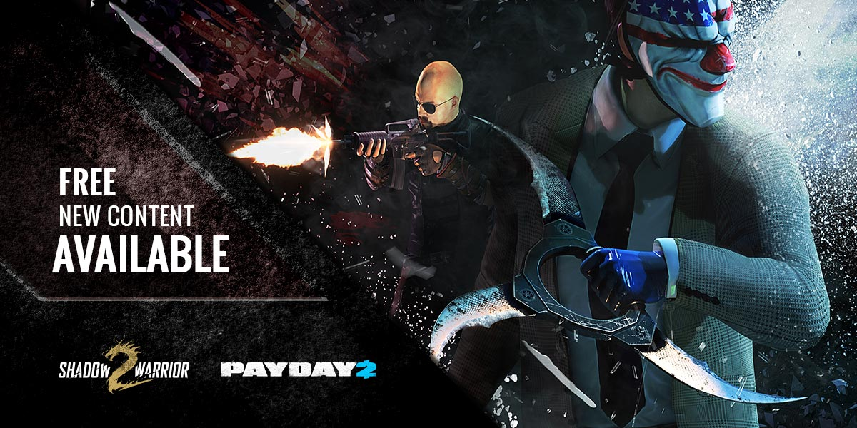 Payday 2 update 130 shadow warrior collaboration overkill software malvernweather Images